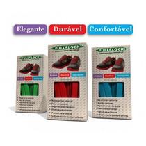 Kit Cadarço Colorido De Silicone Elástico Tenis E Sapatenis