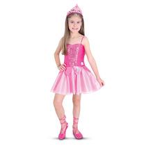 Fantasia Barbie Sapatilhas Magicas Pop