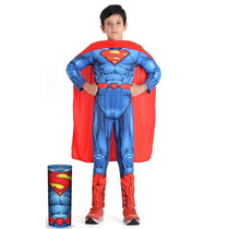 Fantasia Super Homem Infantil C/ Musculo Superman Original