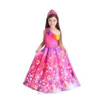 Fantasia Da Barbie E O Portal Secreto Luxo Infantil Princesa