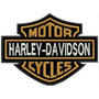 Bordado Harley Davidson Motor Cycles Patch - Pequeno