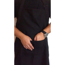 Avental Oxford C/bolso, Buffet,uniforme,cozinha,hotel,garçon