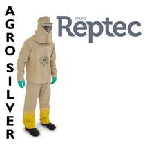 Roupa Conjunto Para Pulverização Defensivos Agrícolas Reptec