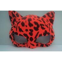 Mascara Oncinha Fantasia Para Carnaval E Festas 6 Unidades
