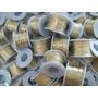 Courinho Fio Dourado Para Personalizar Chinelos - Rolo 25 M