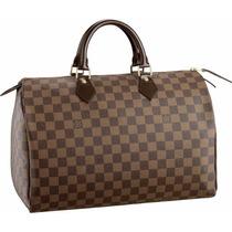 Bolsa Louis Vuitton Speedy 35 Ebene- Frete Gratis