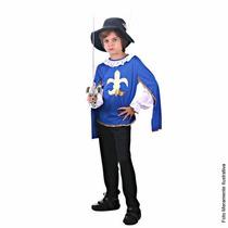 Fantasia Mosqueteiro G (8 A 10 Anos)
