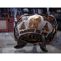 Fivela Cinto Country Rodeo Festa Peão Cowboy De Fé