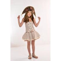 Fantasia Maria Bonita Infantil P (4 A 6 Anos)
