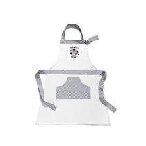 Avental De Cozinha Com Bolso Na Frente Vaquinha Mily Jaleco