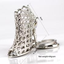 Chaveiro Personalizado Feminino Sapato De Cristal