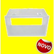 _moldura Radio Fox/polo/ecosport/fiesta 05/11 2din Prata