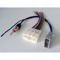 Kit Chicote Adaptador Cd Player Dvd + Plug De Antena Nissan