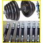 Barra Roscadas Para Musculação Halteres