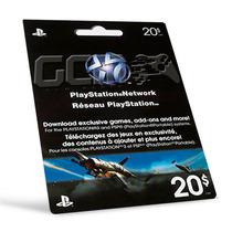 Playstation Network Card Cartão Psn $20 - Preço Imbativel !!