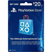 Playstation Network Psncard $20 Usd Envio Gratis -10minutos!
