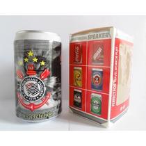 Mini Caixa Caixinha De Som Coca-cola Portatil Fm Usb Mp3 P2