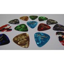 Kit Com 20 Palhetas Fender Thin - Para Violão Ou Guitarra
