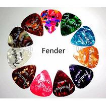 Palhetas Fender Guitarra