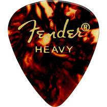 Palheta Heavy Tortoise Shell Fender Pct C/ 12 (2738)