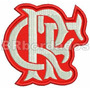 Patch Bordado Trj045 Flamengo Tag Escudo Símbolo Brasão Time