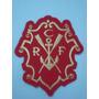 P004 - Patch Oficial Escudo Antigo Bordado Flamengo