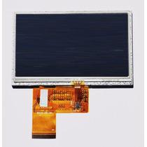 Tela Display Lcd Com Touch Screen Universal Gps 4.3 Polegads