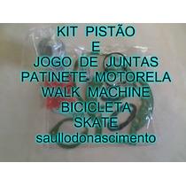 Pistão E Jogo De Juntas Para Patinete Walk Machine Motorela