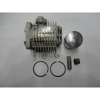 Kit Cilindro Mini Moto 40mm 49cc, Pistão Anéis Pino Gaiola