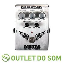 Pedal Rocktron Distorção Metal Embrace