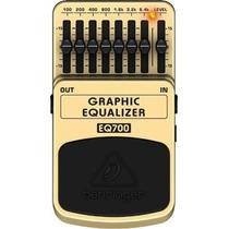 Eq700: Pedal Equalizador Para Guitarra - Behringer Eq 700