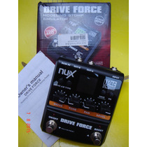 Pedal Nux Drive Force (zerado Com Caixa E Manual)