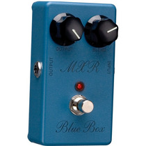Promoção! Dunlop M103 Pedal Mxr Blue Box Octave Fuzz Guitar