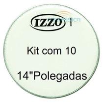 Pele Leitosa Izzo 14 Polegadas Kit Com 10 Unidades