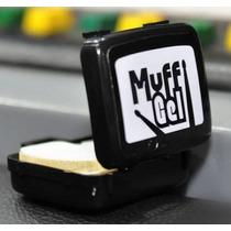 Abafador De Tambores Luen Muff Gel - Kit Com 6 Pads
