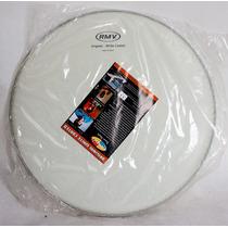 Pele De Bateria Rmv Porosa 14 Original White Coated