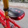 Lanterna Traseira Para Bike Com 5 Led E 2 Faixas Em Lazer...