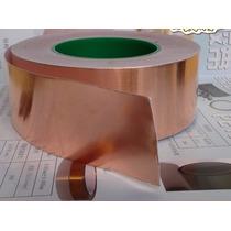 Fita De Cobre Adesiva - Blindagem De Instrumentos 1 M X 5 Cm