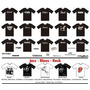Camiseta Zildjian, Mapex, Dw, Tama, Ludwig, Paiste, Pearl