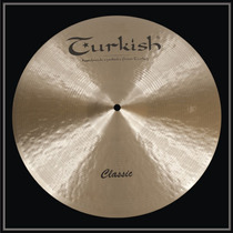 Prato Liga B20 Turkish Cymbals - Crash Classic Thin 15