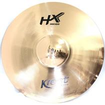 Prato Ride 20 Condução Hx Krest Cymbals Bronze B8 - Dinhos