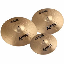 Kit De Pratos Krest Deep Cult Dcset1 14 18 20 C/ Bag 12514