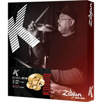 Kit De Pratos Zildjian K0800 Para Bateria Edição Limitada
