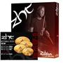 Kit Pratos Zildjian Zht Rock Zhtr4p-9 Na Cheiro De Música !!