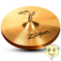 Prato Chimbal 13 Zildjian Zbt Zbt13hp B8 Hi-hat - Kadu Som