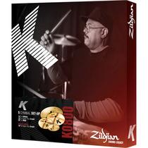 Kit De Pratos Zildjian K Dark 14/16/18/20