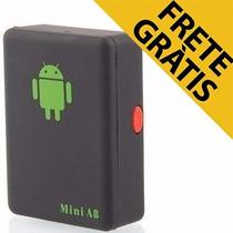 Mini A8 Escuta Espiã Gsm Localizadora Gps Celular Botão Sos