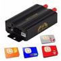 Rastreador Gps Para Carros E Caminhões Alarme Tracker 103b