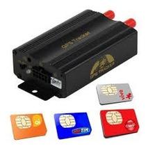 Rastreador E Bloqueador Por Satélite Gps/sms/gprs Tracker Tk
