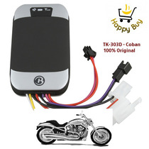 Rastreador Bloqueador Gps Tracker Tk-303d Tk303d Moto Carro